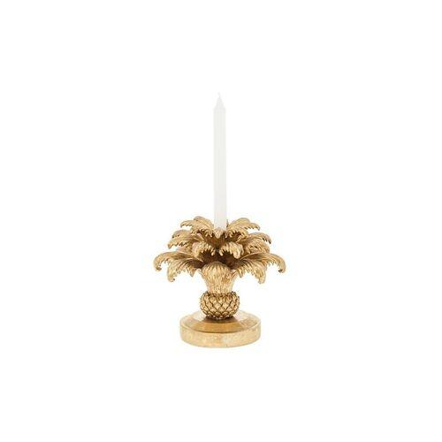 RIVERDALE Kerzenständer Palm 23cm gold