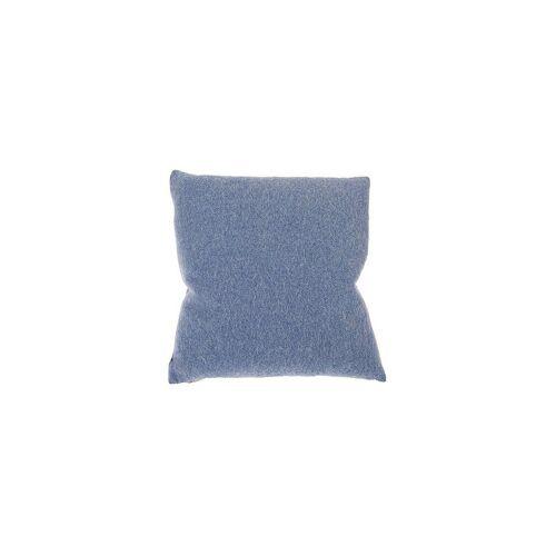 STEINER 1888 Wollkissen Alina 40x40cm blau
