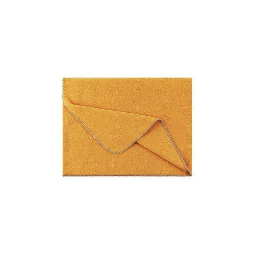 STEINER 1888 Wolldecke - Plaid Alina 150x190cm Mais gelb