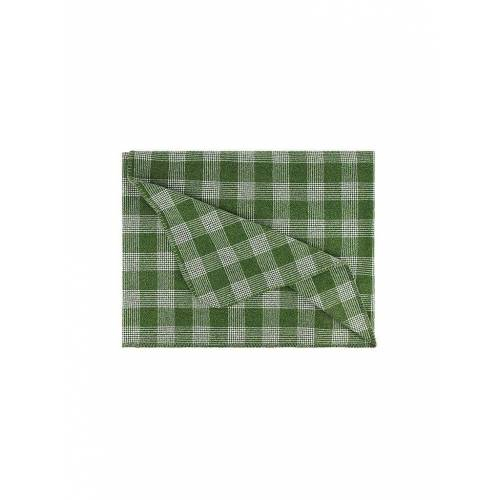 STEINER 1888 Wolldecke - Plaid Sina 145x190cm Tanne grün