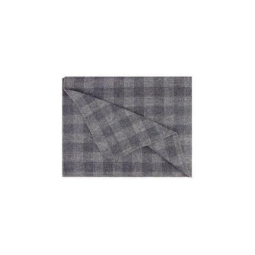 STEINER 1888 Wolldecke - Plaid Sina 145x190cm Graphit grau