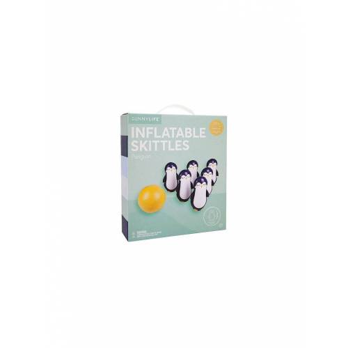 SUNNYLIFE Inflatable Skittles Penguin bunt