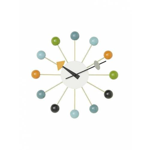 VITRA Wanduhr Ball Clock 33cm bunt