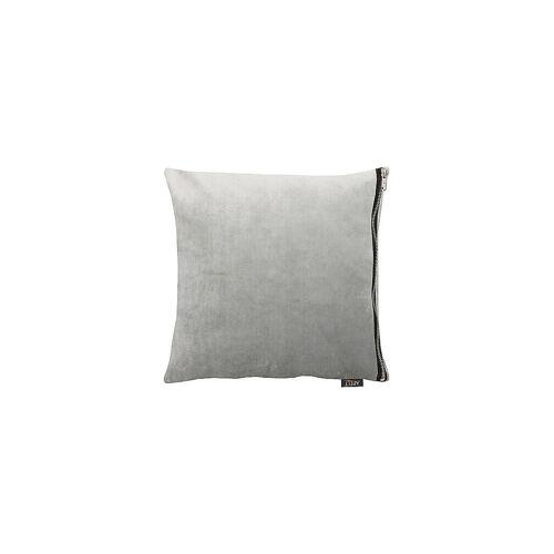 Apelt Samtkissen Tassilo 65x65cm Grau grau   TASSILO