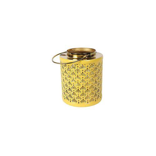 COUNTRYFIELD Windlicht Amira S 18/18,5cm Gelb gelb   783091