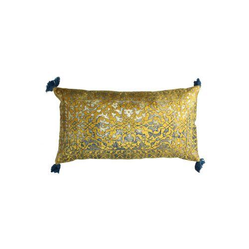 KERSTEN Samtkissen 40x60cm  gold   XET-3143