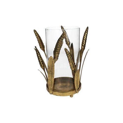 KERSTEN Kerzenhalter - Windlicht 24,5cm gold   XET-5751