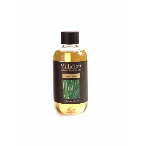 """MILLEFIORI Raumduft - Nachfüllung """"Natural - Lemon Grass"""" 250ml   NATURAL"""