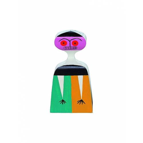 VITRA Deko Holzpuppe 14,6cm Nr 3 bunt   21502703