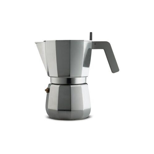 Alessi Espressomaschine Moka (9 Tassen) grau