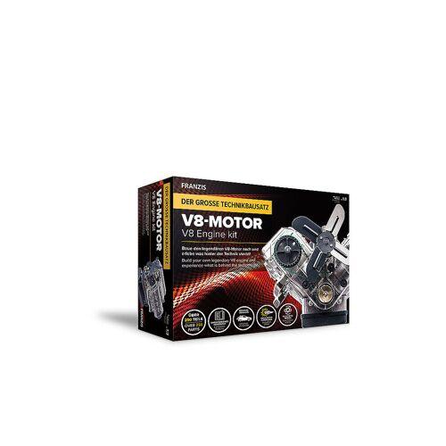 FRANZIS Modellbausatz - V8-Motor