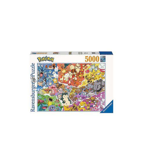 RAVENSBURGER Puzzle 16845 – Pokémon Allstars – 5000 Teile