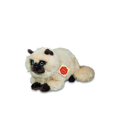 HERMANN TEDDY Plüschtier - Siamkatze sitzend 20cm
