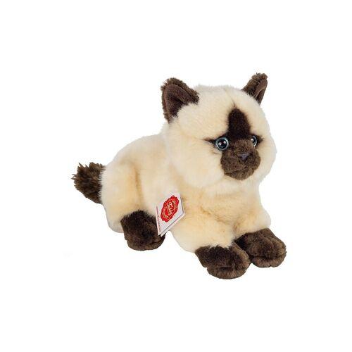 HERMANN TEDDY Siamkatze liegend 20cm