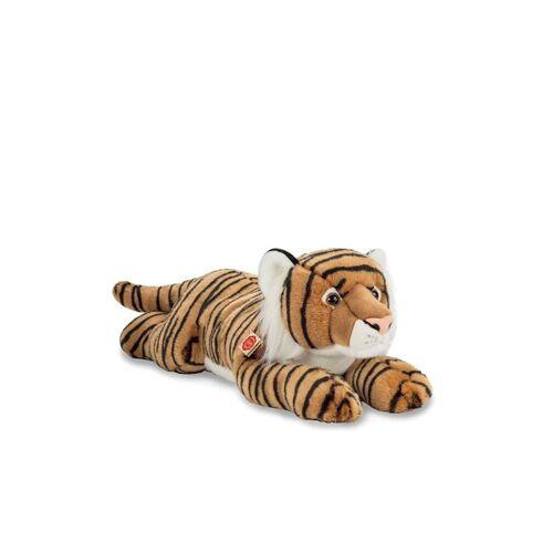 HERMANN TEDDY Plüschtier - Tiger liegend braun 70cm