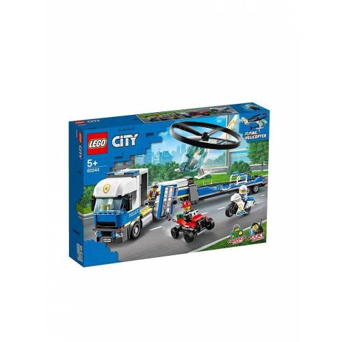Lego City - Polizeihubschrauber-Transport 60244