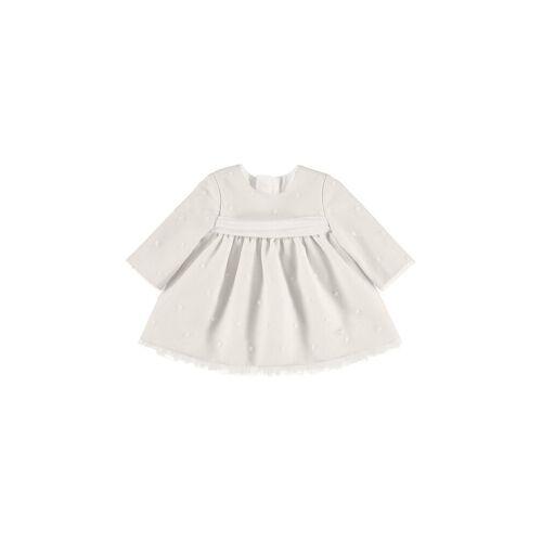MAYORAL Mädchen-Babykleid creme   56