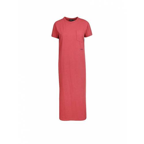 RALPH LAUREN Shirtkleid rot   S