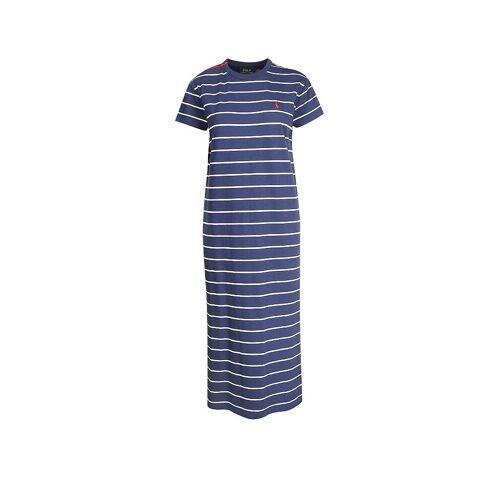 RALPH LAUREN Shirtkleid blau   S
