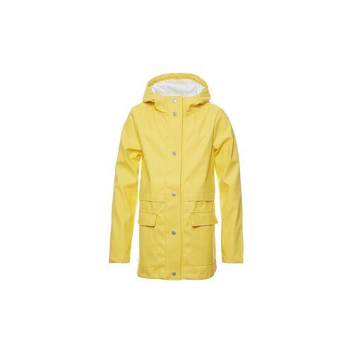 REVIEW Mädchen-Regenmantel gelb   140