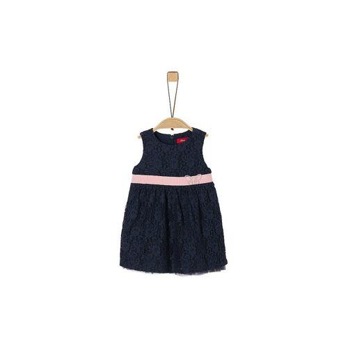 S.OLIVER Mädchen Babykleid blau   92