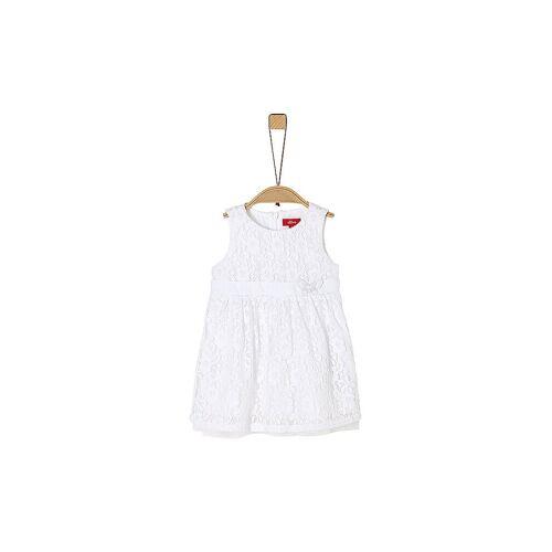 S.OLIVER Mädchen Babykleid weiß   68