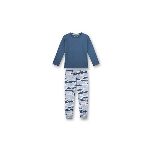 SANETTA Jungen Pyjama  blau   164