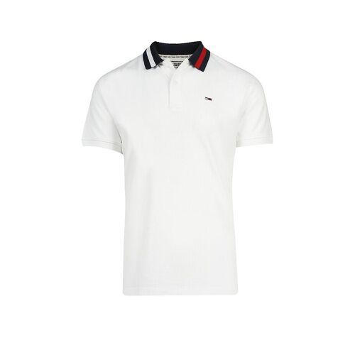 TOMMY JEANS Poloshirt weiß   L