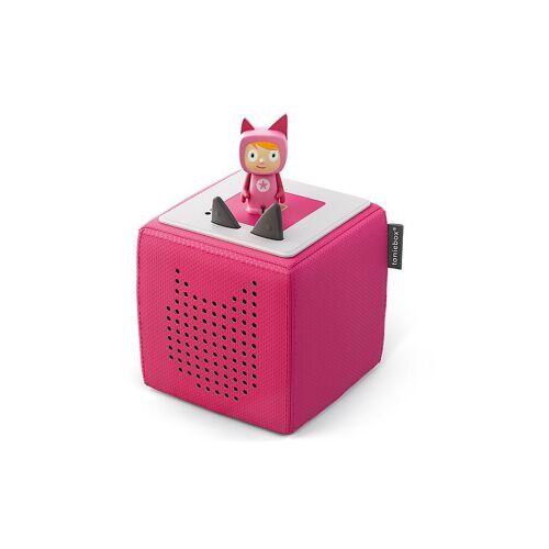 TONIES Toniebox - Starter-Set mit Kreativ-Tonie (Pink)