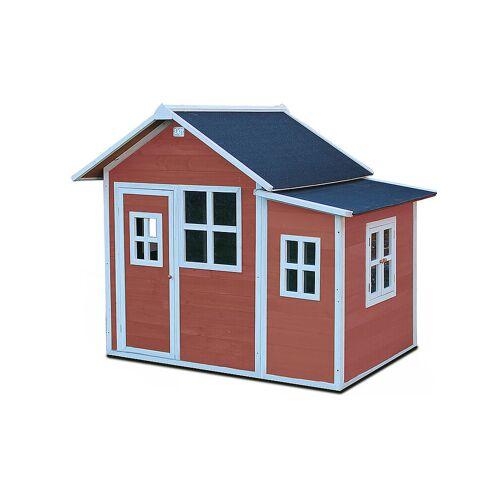 EXIT TOYS Loft 150 Holzspielhaus - rot