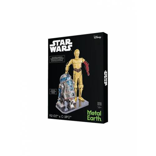 METAL EARTH 3D Metallbausatz - R2-D2 & C-3PO (Doppelpack-Box)