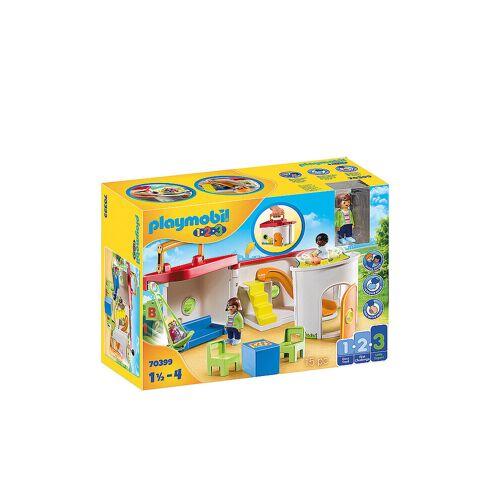 Playmobil 1,2,3 - Mein Mitnehm-Kindergarten 70399