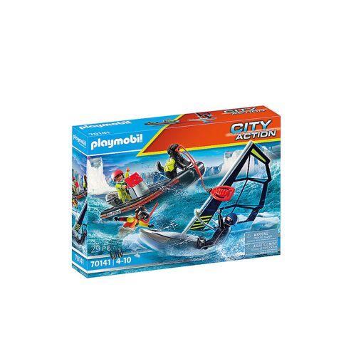 Playmobil Seenot: Polarsegler-Rettung mit Schlauchboot 70141