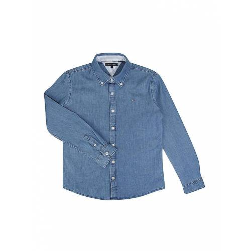 Tommy Hilfiger Jungen Jeanshemd blau   Kinder   Größe: 140-152   KB06326