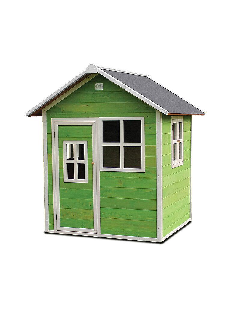 EXIT TOYS Loft 100 Holzspielhaus - grün