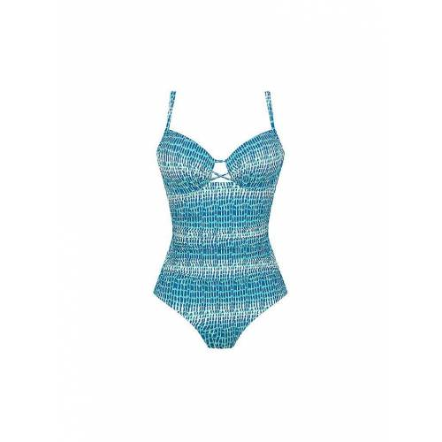 "CHANTELLE Badeanzug ""Shades"" blau   Damen   Größe: 75C   18C7"