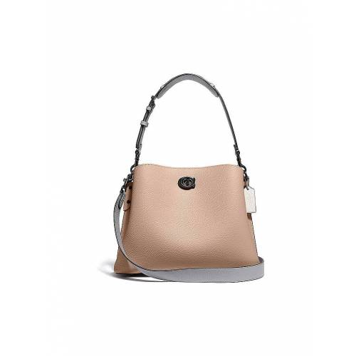 COACH Ledertasche - Hobo Bag Willow beige   Damen   C2590