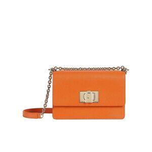 FURLA Ledertasche - Mini Crossbody  orange