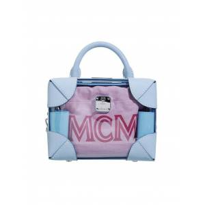 MCM Ledertasche - Minibag Soft Berlin blau