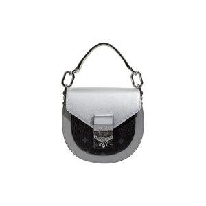 MCM Ledertasche - Mini Bag Patricia Visetos silber