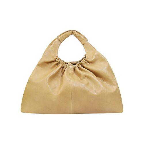 CLOSED Ledertasche - Hobo Bag gelb