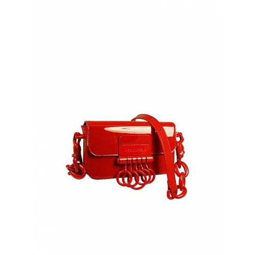 DSQUARED 2 Ledertasche - Waist Bag Key rot