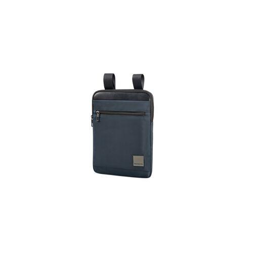 Samsonite Hip-Square Crossover Bag L blau