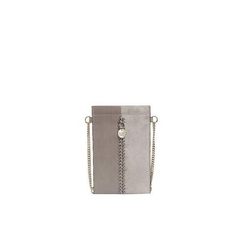 SEE BY CHLOE Ledertasche - Smartphone Tasche Tilda grau