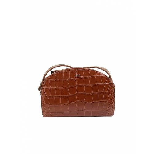 A.P.C. Ledertasche - Minibag Demi-Lune Camel   Damen   PXBLJ-F61392