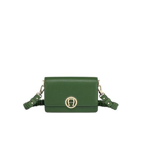 AIGNER Ledertasche - Minibag Livia grün   Damen   132209