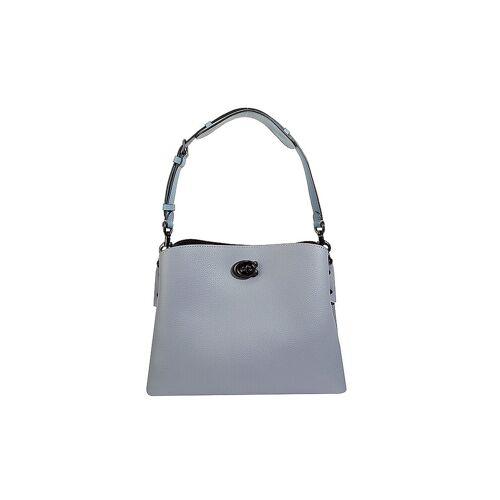 COACH Ledertasche - Hobo Bag Willow blau   Damen   C2267