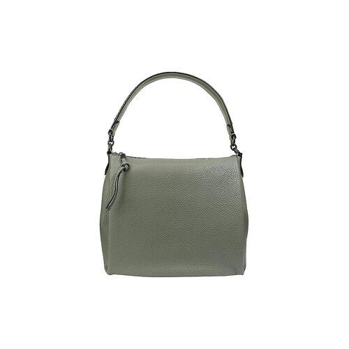 COACH Ledertasche - Hobo Bag Shay grün   Damen   594