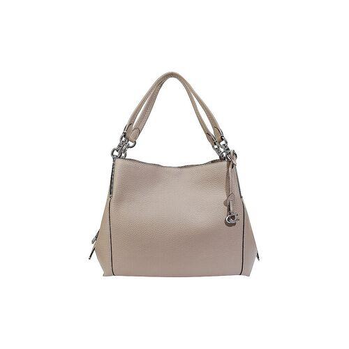 COACH Ledertasche - Hobo Bag beige   Damen   73546