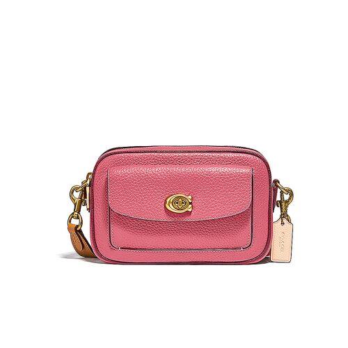 COACH Ledertasche - Camera Bag Willow rosa   Damen   C0695